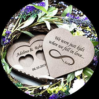 Accesorii nunta personalizate