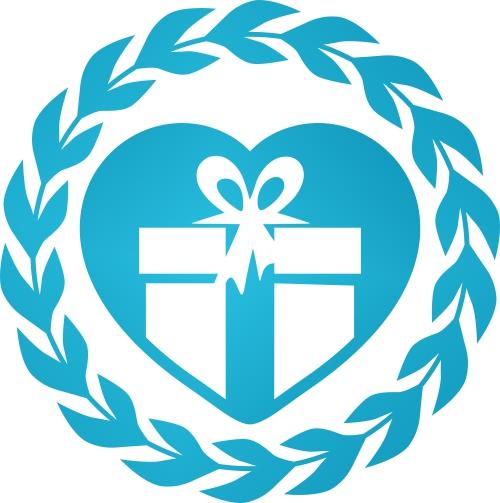 Cadou personalizat Trofeu Plexiglas Ondulat - Craciun Fericit dragii mei bunici