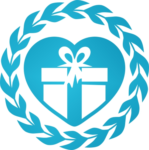 Cadou personalizat Trofeu Plexiglas ascendent - Mesaj de Craciun pentru bunici